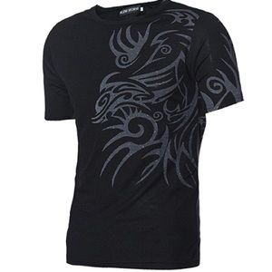 Other - Nwt: two black slim fit tops men/boy