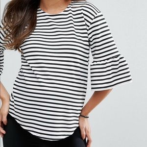 Misguided Maternity Top