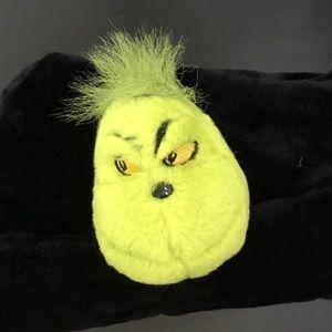 Grinch faux fur hat