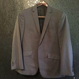 Men's Gray Kenneth Cole Reaction two-piece suit
