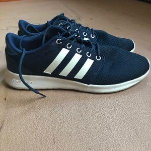 Le adidas blu cloudfoam scarpe taglia 95 poshmark