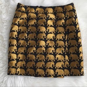 J.Crew origami Elephant Parade Skirt/ will trade