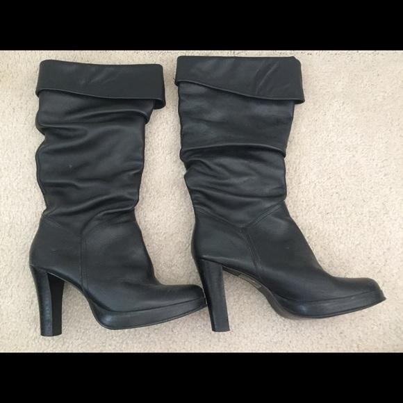 Womens Dressy Black Boots