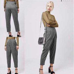 Topshop gray pants