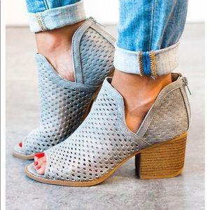 Shoes - Restock 😍 Mesh Booties Grey