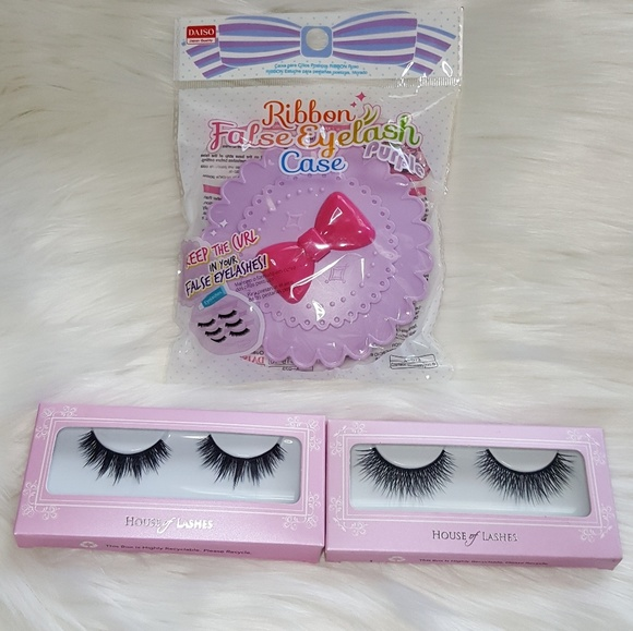 House of Lashes 2 Pairs + FREE Eyelash Case