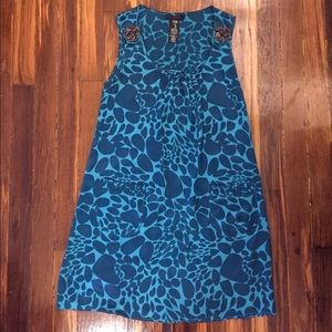 Custo barcelona mini silk dress