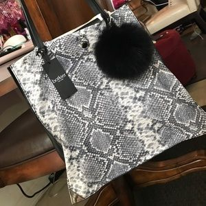 Botkier Snake Leather Tote