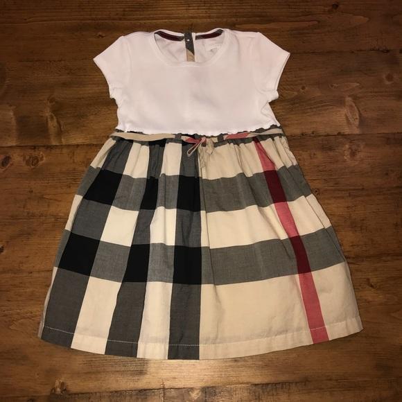 eb772e228e0b Burberry Dresses | Girls Mini Rosey Check Skirt Dress | Poshmark