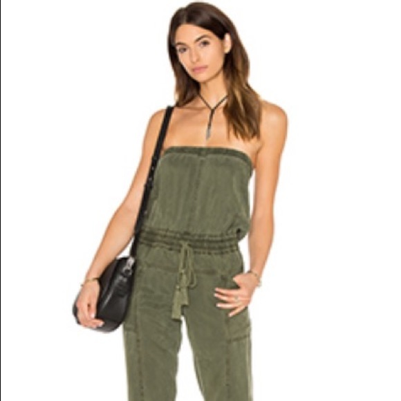 Young Fabulous Broke Pants Yfb Luke Jumpsuit In Palm Size S