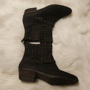 Worn only once brown Ralph Lauren boots