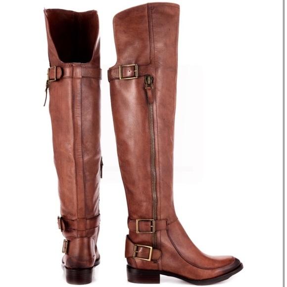 a95ed620d3a33 Sam Edelman Leather Over Knee High Riding Boots. M 59cd6ba1eaf0306d3e00b629