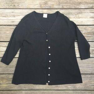 Motherhood Maternity Black Cardigan Sweater