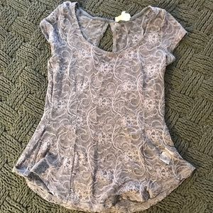 Tops - Grey Lace top