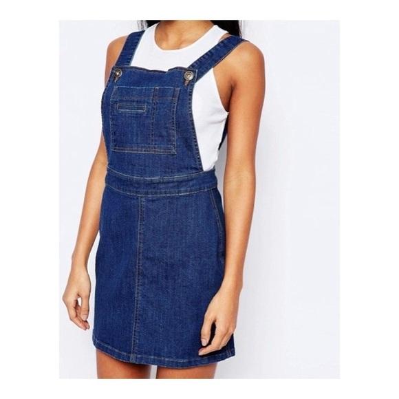 1980ace5da8 Asos Dresses   Skirts - ASOS ✌🏻 Boohoo Denim Pinafore Dress