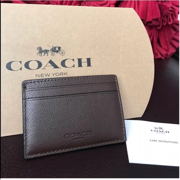 026d3746af3e Coach men s credit card wallet new