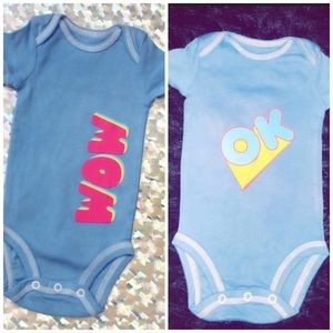 Other - ▪️0-3 month retro baby girl onesies