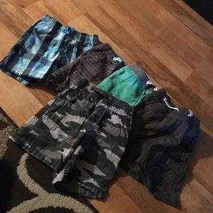 Other - 5 pairs of size 2T boy shorts