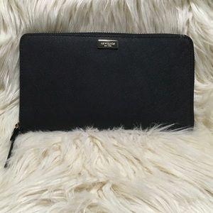 KATE SPADE Large Zip Arnd Talla Leather Wallet NWT