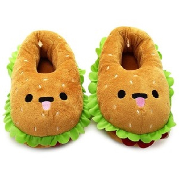 6df657fc3ac2 FLASH SALE⚡️NWT Hamburger Slippers