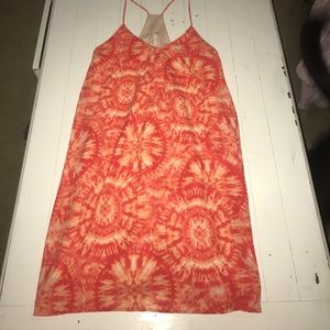Dresses & Skirts - Bright orange dress
