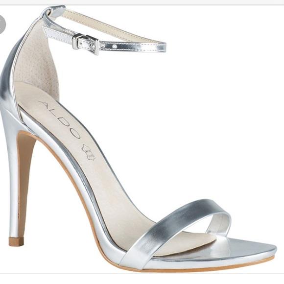 Simple Silver Heels