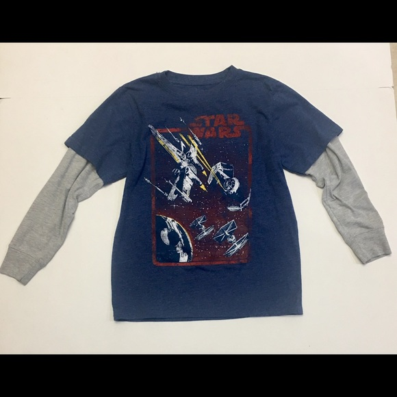 Star wars Other - Boys Star Wars Long Sleeve T-Shirt, Size Large