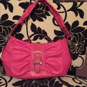 BRAND NEW pink leather Elle bag