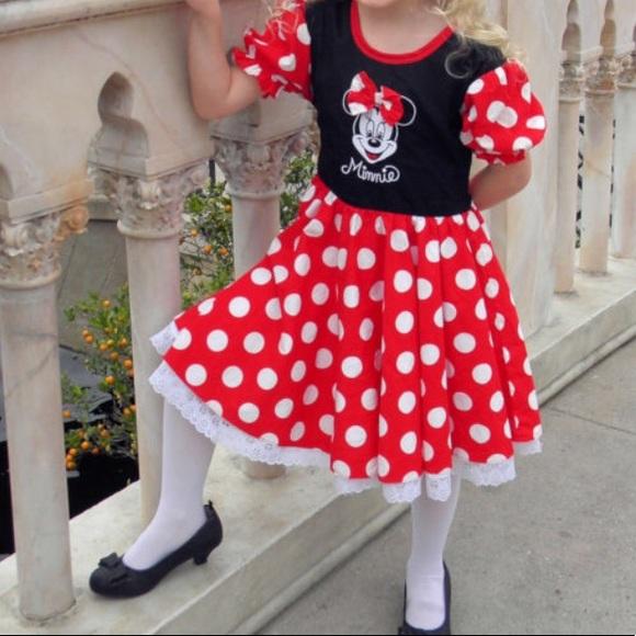 Disneyland Resort Dresses Vintage Minnie Mouse Dress Poshmark