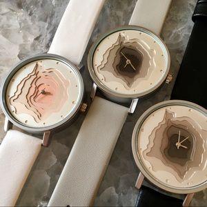 Terra 3D Geometric Luxury Watch
