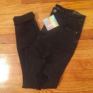 NWT Missguided high waisted jeans