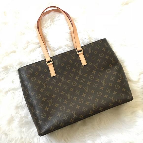 Louis Vuitton Handbags - Authentic Louis Vuitton Luco Tote Bag 8bcbfcdae2ea6