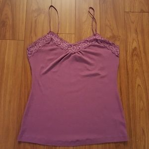 XL WORTHINGTON LAVENDER CAMISOLE