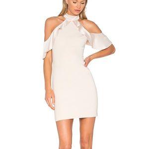 Alice + Olivia Ebony Cold Shoulder Mini Dress 4