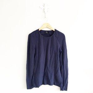 Kate Spade Navy Heavyweight Long Sleeve T-Shirt