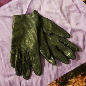 Accessories - VINTAGE Navy Gloves