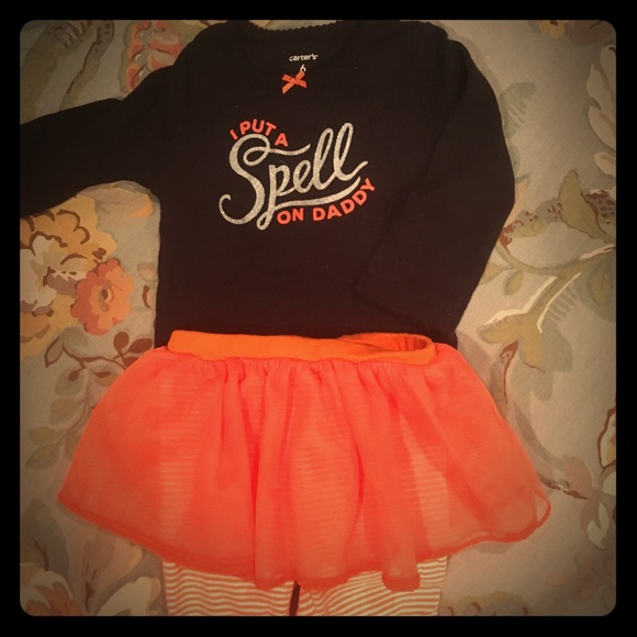 f3b861c80 Carter's Matching Sets | Halloween Onesie With Tutu Pants | Poshmark