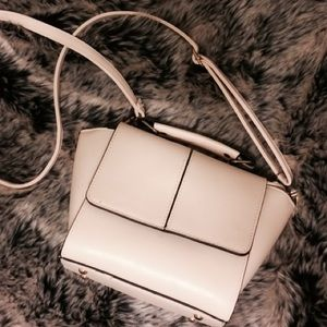 Handbags - White Purse/ Satchel