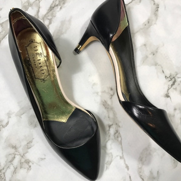 good quality clearance prices good texture Ted Baker Kitten Heels
