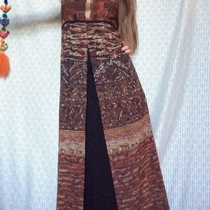 Carole Little Dresses - ⬇️ $44 Lady's Mountain Goddess Lounge Maxi