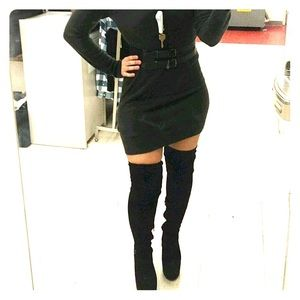 Shoes - thigh high boots sz 9