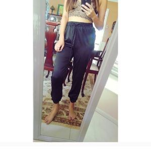 Urban Outfitters Pants - Urban outfitters silky joggers