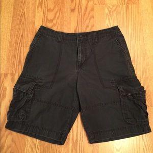 Men's Mossimo Supply Co navy cargo shorts 34W