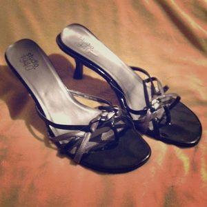 Black Kitten Heels