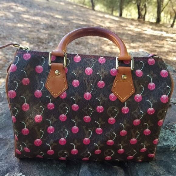 5b98dcaa3116 Louis Vuitton Handbags - ⚡️Party Sale⚡️Louis Vuitton Cherry Murakami Speedy
