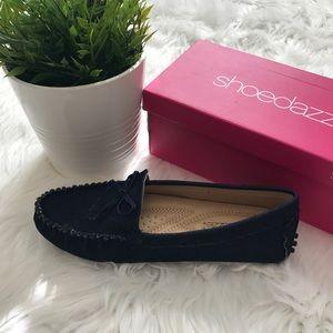 Women's Blue Denim Loafers Size 8 💙