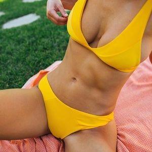 Other - MARIGOLD Yellow Bikini Set