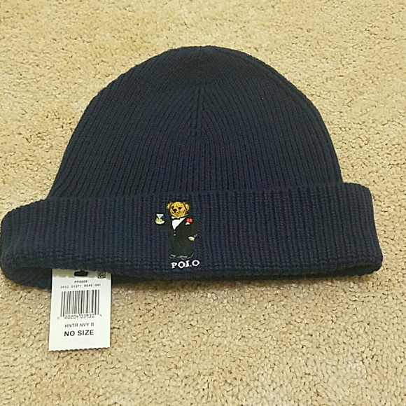 Limited edition Ralph Lauren Polo Bear beanie df181bbdfaa