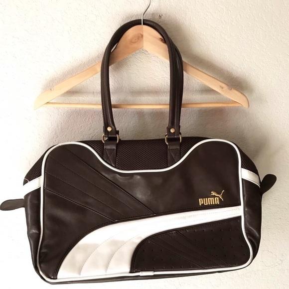 3830ce95406 Puma Leather Retro Bag. M 59cde64fc2845646c40011a6