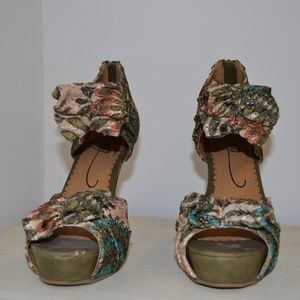 MTNG Shoes - MTNG multicolored high heel